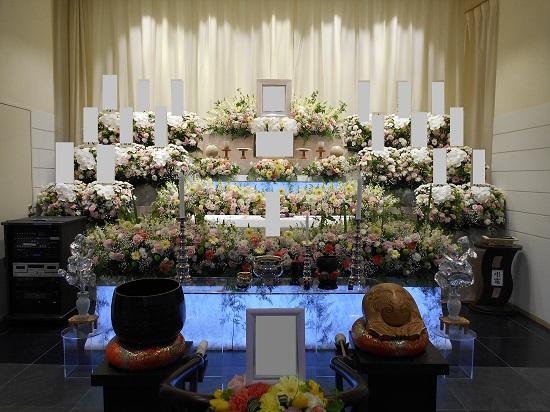 浦安市斎場花祭壇