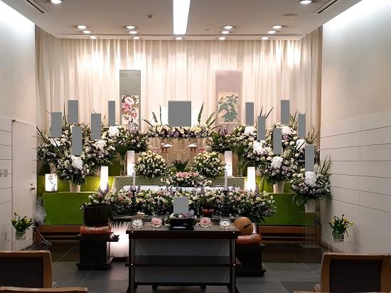 浦安市斎場花祭壇2-4